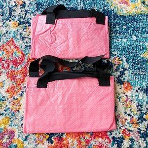 IKEA Slukis Pink Storage Reseller Organization Bag